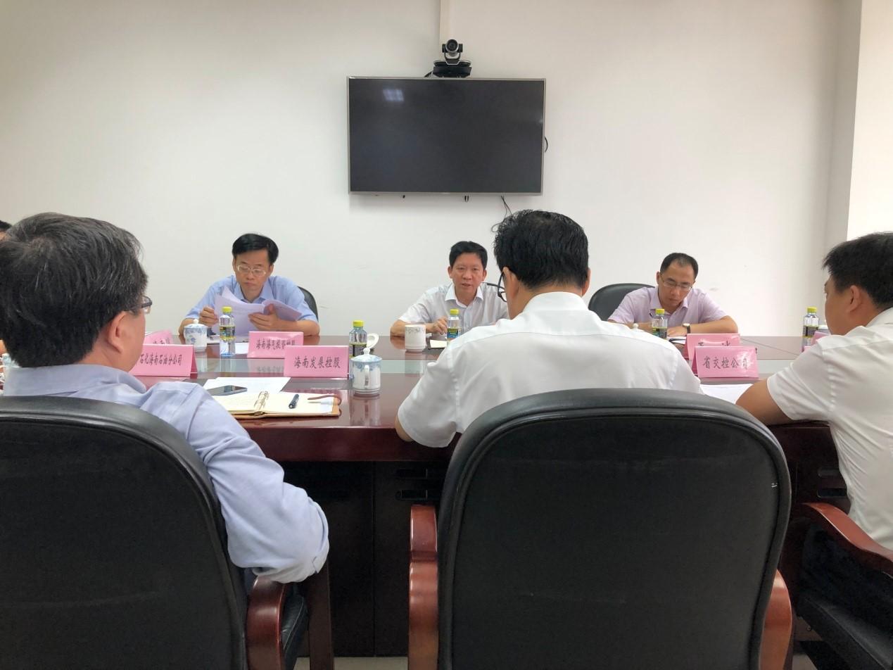 海南控股副总经理李晓刚带队参加海南省充电基础设施公司成立方案商讨会